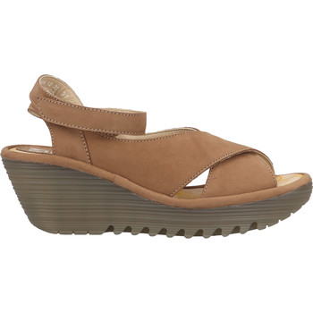 Schuhe Damen Sandalen / Sandaletten Fly London Sandalen Sand