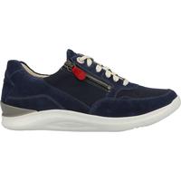 Schuhe Damen Sneaker Low Ganter Sneaker Blau