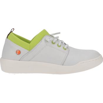 Schuhe Damen Sneaker Low Softinos Sneaker Weiß