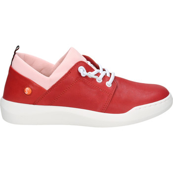 Schuhe Damen Sneaker Low Softinos Sneaker Rot