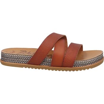 Schuhe Damen Pantoletten / Clogs Blowfish Malibu Pantoletten Braun