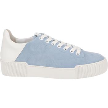 Schuhe Damen Sneaker Low Högl Sneaker Blau/Weiß