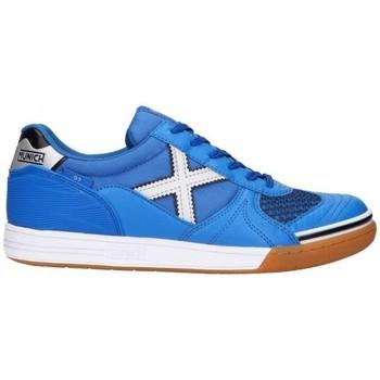 Schuhe Herren Sneaker Low Munich G-3 INDOOR 3111136 Blau