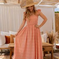 Kleidung Damen Maxikleider Céleste AURORE Rose
