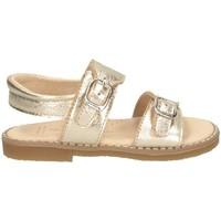 Schuhe Kinder Sandalen / Sandaletten Andanines 201264 Sandalen Kind Platin Platin