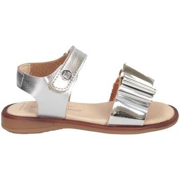 Schuhe Mädchen Sandalen / Sandaletten Andanines 211440 Sandalen Kind SILBER SILBER