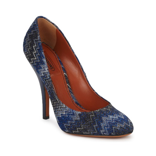 Missoni VM005 Blau Schuhe Pumps Damen 179,60