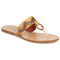 Schuhe Damen Zehensandalen Missoni VM048 Orange