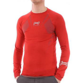 Kleidung Herren Langarmshirts Hungaria H-15TOUYY000 Rot