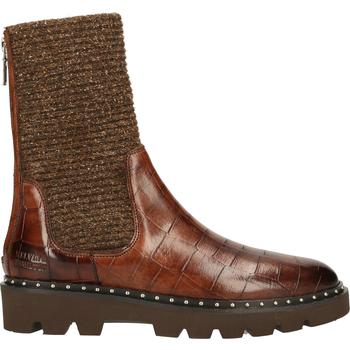 Schuhe Damen Boots Melvin & Hamilton Stiefelette Braun