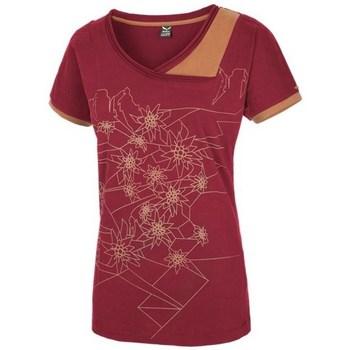 Kleidung Damen T-Shirts Salewa 251661651 Kirschrot