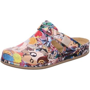 Schuhe Damen Hausschuhe Dr. Feet 2398 HP 314 bunt