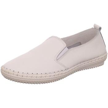 Schuhe Damen Skaterschuhe Scandi Slipper 220-8012-L1 weiß