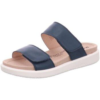 Schuhe Damen Pantoffel Romika Westland Pantoletten 25403409590 blau