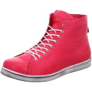 Schuhe Damen Sneaker High Andrea Conti Stiefeletten 2033 0341500 767 rot
