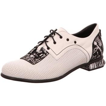 Schuhe Damen Derby-Schuhe & Richelieu Simen Schnuerschuhe 3543A weiß