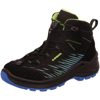 Schuhe Jungen Wanderschuhe Lowa Bergschuhe ZIRROX GTX MID JUNIOR 650118/9903 schwarz