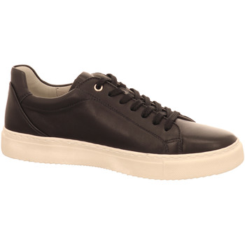 Schuhe Herren Sneaker Low Sioux Schnuerschuhe 38183 schwarz