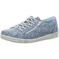 Schuhe Damen Sneaker Low Cloud Schnuerschuhe AIKA BANANO BLUE blau
