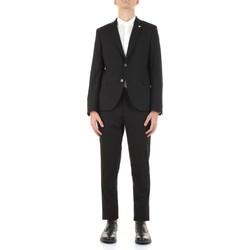 Kleidung Herren Anzüge Manuel Ritz 3032A3109-213044 Schwarz