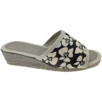 Schuhe Damen Pantoffel Cristina CIABFELTROnero nero