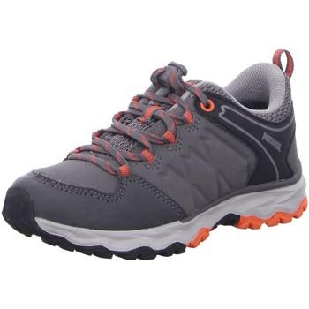 Schuhe Damen Wanderschuhe Meindl Bergschuhe Ontario Junior GTX 2109-23 grau