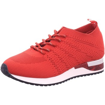 Schuhe Damen Sneaker Low Idana Schnuerschuhe 236752509 rot