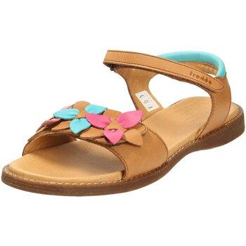 Schuhe Mädchen Sandalen / Sandaletten Froddo Schuhe Sandale 68030 braun