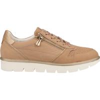 Schuhe Damen Sneaker Low Bugatti Sneaker Sand/Gold