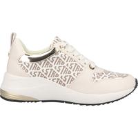 Schuhe Damen Sneaker Low La Strada Sneaker Weiß/Beige