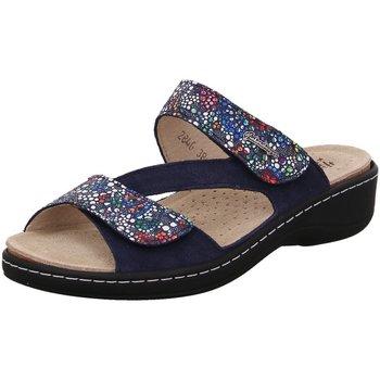 Schuhe Damen Sandalen / Sandaletten Hickersberger Pantoletten 2846-7052 blau