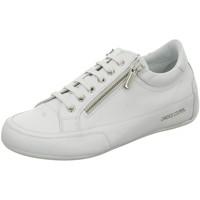 Schuhe Damen Sneaker Low Candice Cooper Schnuerschuhe R. Deluxe Zip 2015824-01 D5050 bianco weiß