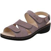 Schuhe Damen Sandalen / Sandaletten Hickersberger Sandaletten herausnehmbares Fußbett 2849-6302 grau