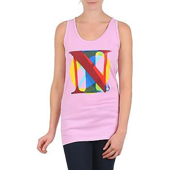 Kleidung Damen Tops Nixon PACIFIC TANK Rose / Multifarben