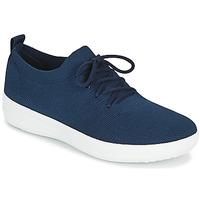 Schuhe Damen Sneaker Low FitFlop F-SPORTY Marine
