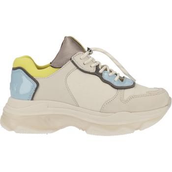Schuhe Damen Sneaker Low Bronx Sneaker Weiß/Blau