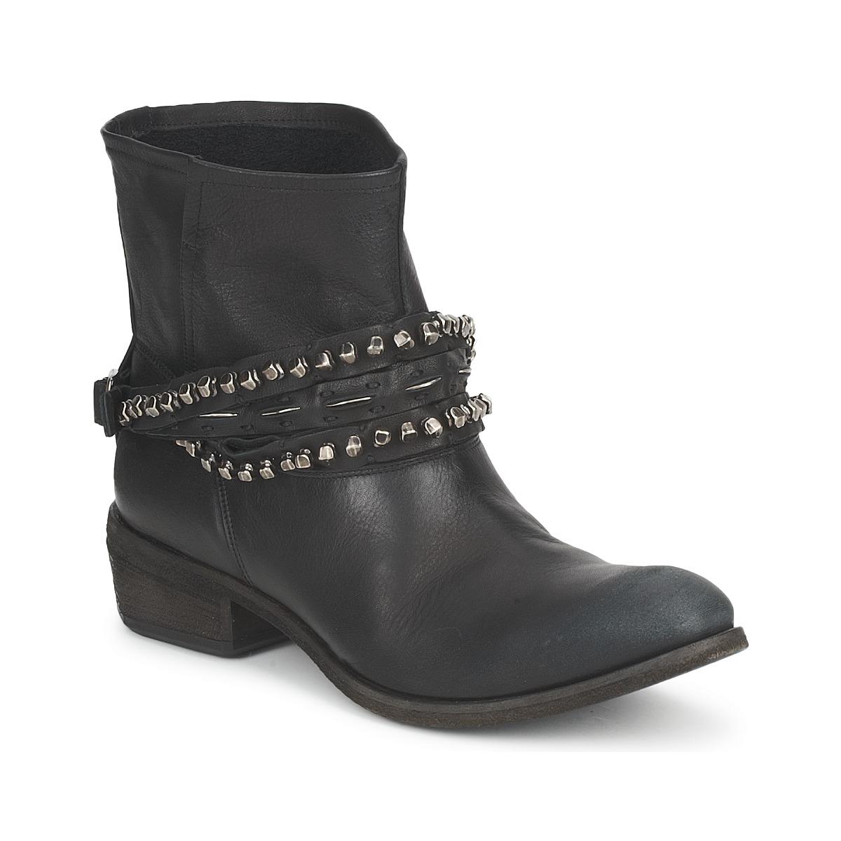 Strategia GRONI Schwarz - Kostenloser Versand bei Spartoode ! - Schuhe Boots Damen 249,60 €