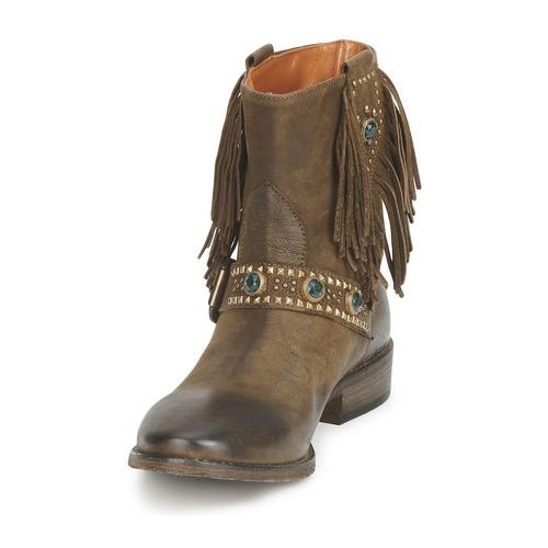 Strategia GRINO Kaki Schuhe Boots Damen 208