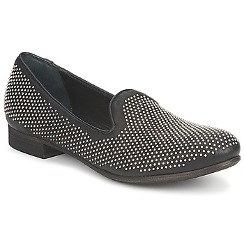 Schuhe Damen Slipper Strategia CLOUPI Schwarz
