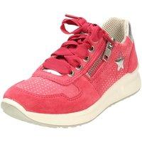 Schuhe Mädchen Sneaker Low Legero Low Halbschuh Leder \ MERIDA HS 1-600186-5000 rot