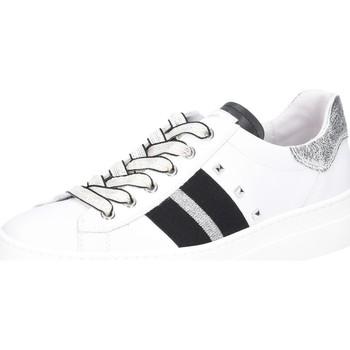 Schuhe Damen Derby-Schuhe & Richelieu NeroGiardini Schnuerschuhe Skipper Bianco Rock S E115280D-707 weiß