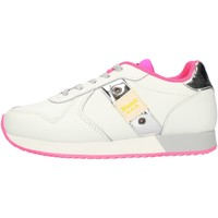 Schuhe Mädchen Sneaker Low Blauer S1LILLI02LEA Weiß