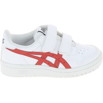 Schuhe Kinder Sneaker Low Asics Japan S C Blanc Rouge Weiss