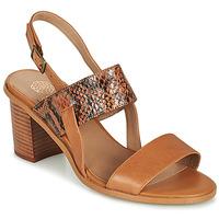 Schuhe Damen Sandalen / Sandaletten Karston LIMEY Camel