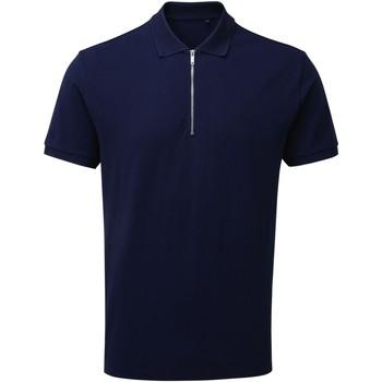 Kleidung Herren Polohemden Asquith & Fox AQ013 Marineblau