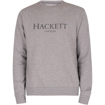 Kleidung Herren Sweatshirts Hackett Crew Sweatshirt grau