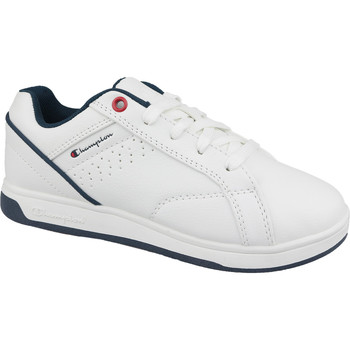 Schuhe Kinder Sneaker Low Champion Ace Court Tennis As blanc