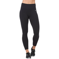 Kleidung Damen Leggings Asics Seamless Cropped Tight Schwarz