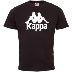 Kleidung Jungen T-Shirts Kappa Caspar Kids T-Shirt Schwarz