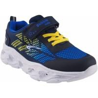 Schuhe Jungen Multisportschuhe Bubble Bobble BOBBLE a3213 blau Weiss